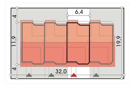Perełka segment środkowy - Sytuacja