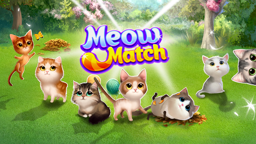 Meow Match: Cats Matching 3 Puzzle & Ball Blast apkpoly screenshots 13