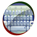 Gleaming silver TouchPal Skin icon