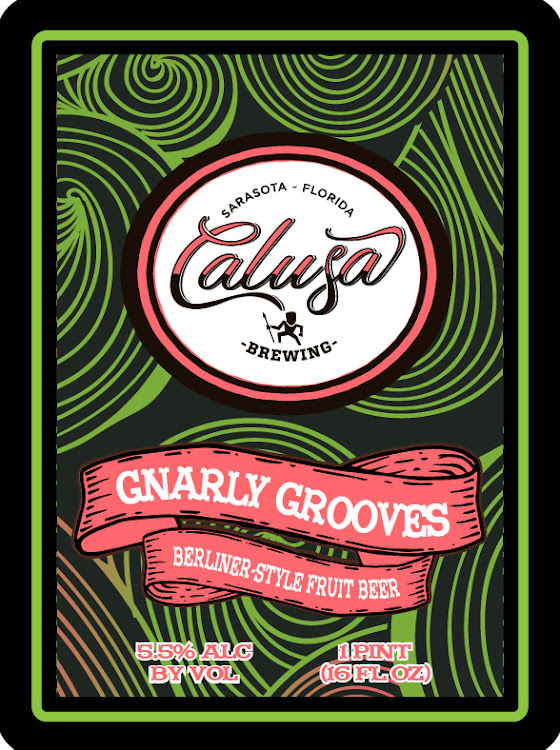 Logo of Calusa Gnarly Grooves
