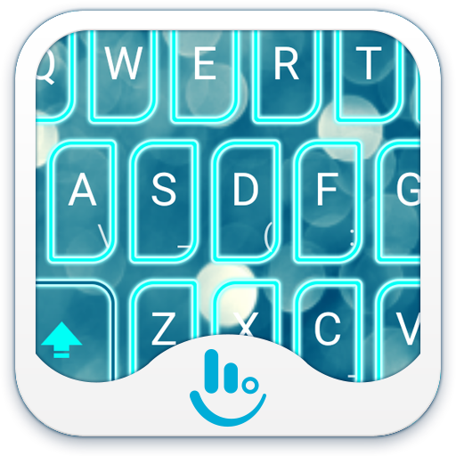 Blue Light Bubble Keyboard 工具 App LOGO-硬是要APP