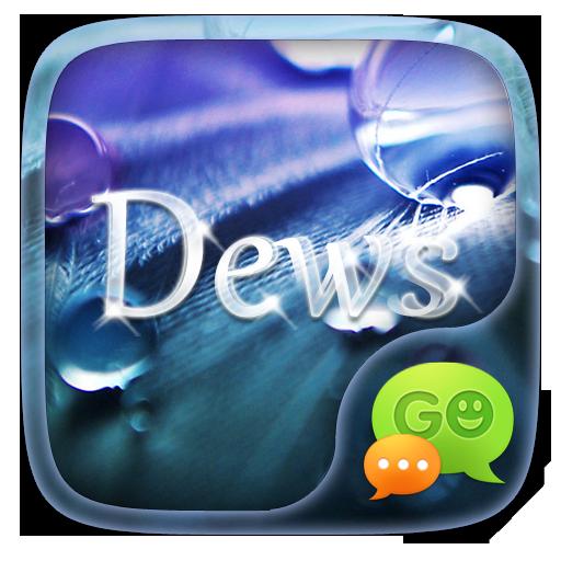 GO SMS DEWS THEME