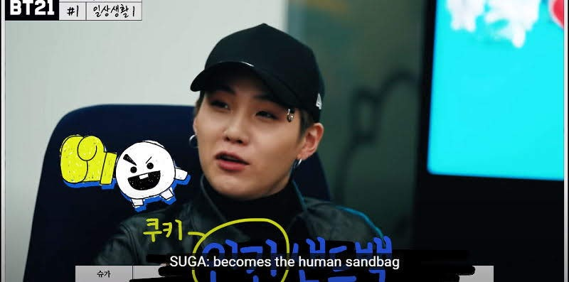 Suga Wants Money for this 2020's Version of BT21