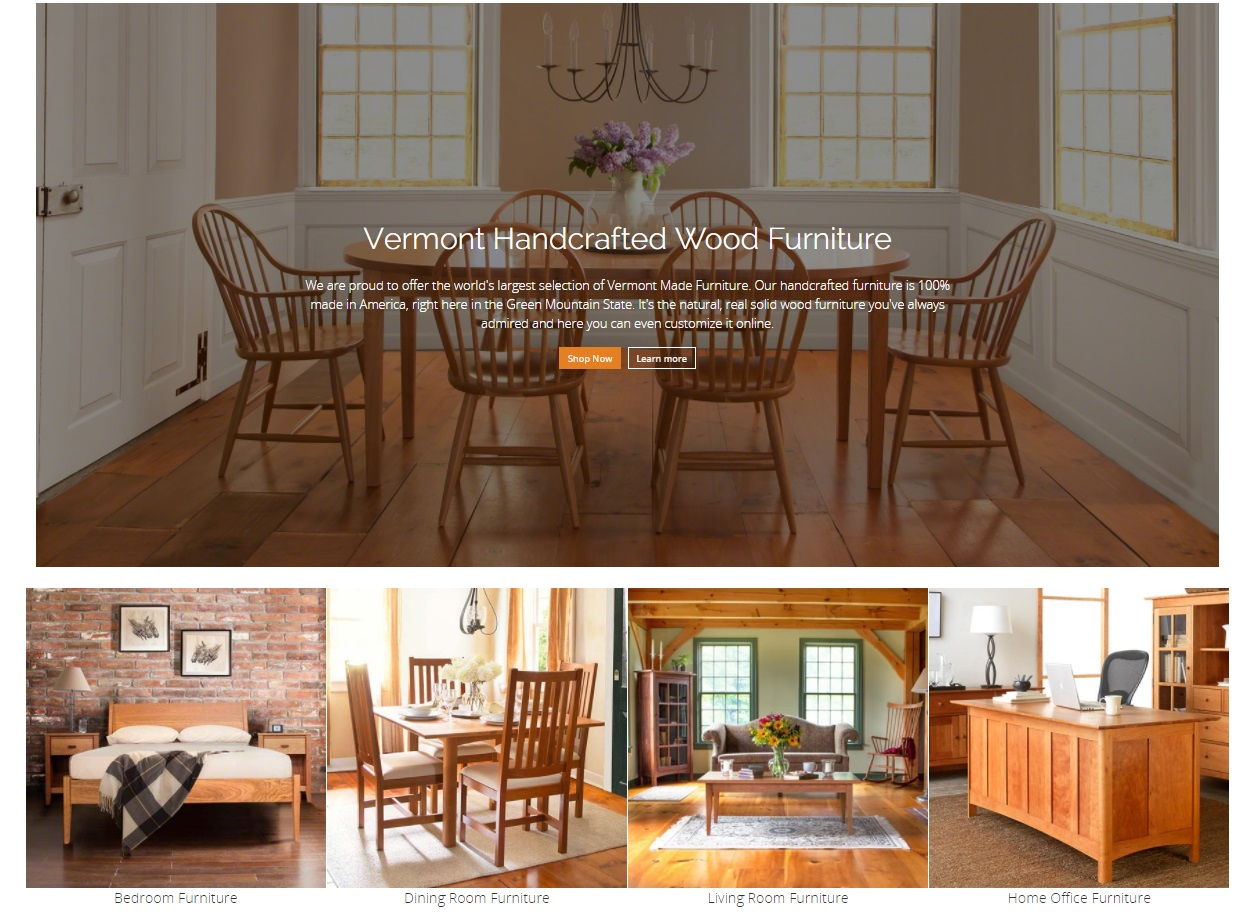 How To Furniture Online With Paypal Vermont Woods Studios