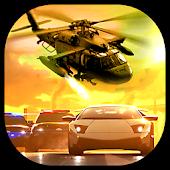 Police Helicopter Vs Criminals