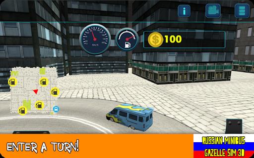 Russian Minibus:Gazelle Sim 3D