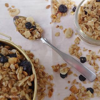 Blueberry Vanilla Granola