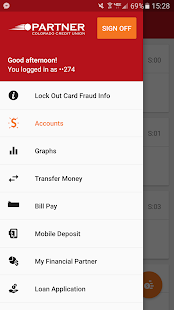 Partner CO CU Mobile Banking- screenshot thumbnail