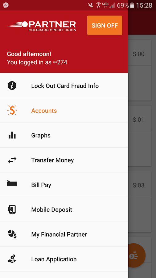 Partner CO CU Mobile Banking- screenshot