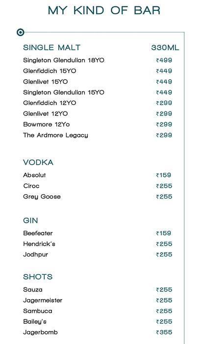 Mkob - My Kind Of Bar menu 3