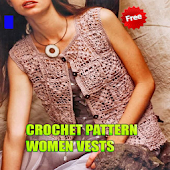 Crochet Pattern Women Vests