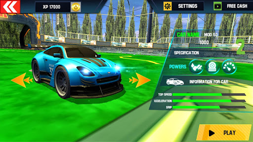 Rocket Car Football Soccer League Champion screenshot 5