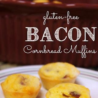 Gluten Free Bacon Cornbread Muffins