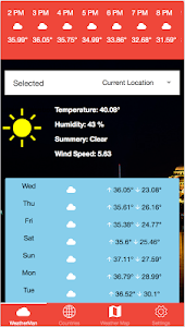 Weather Now Pro screenshot 1