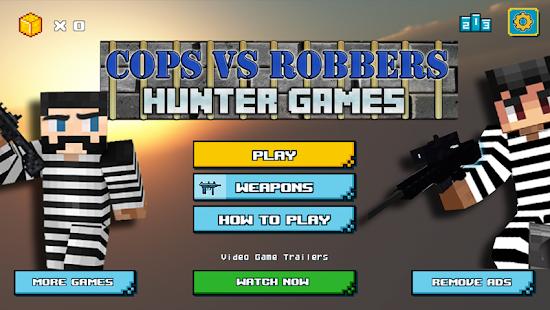Cops vs Robbers Hunter Games - náhled