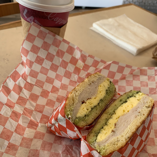 Amazing breakfast sandwiches. All gluten free and freshly made.