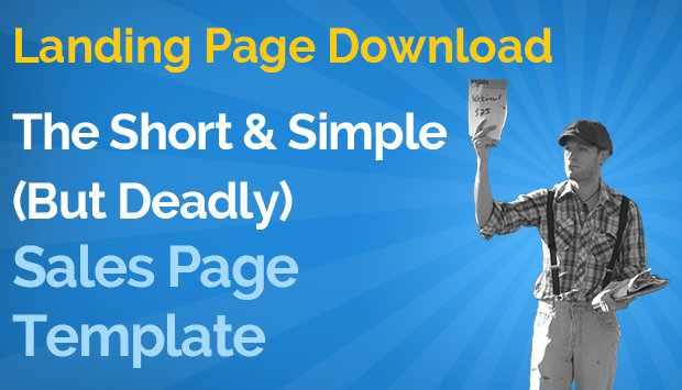 Short & Simple (But Deadly) Sales Page