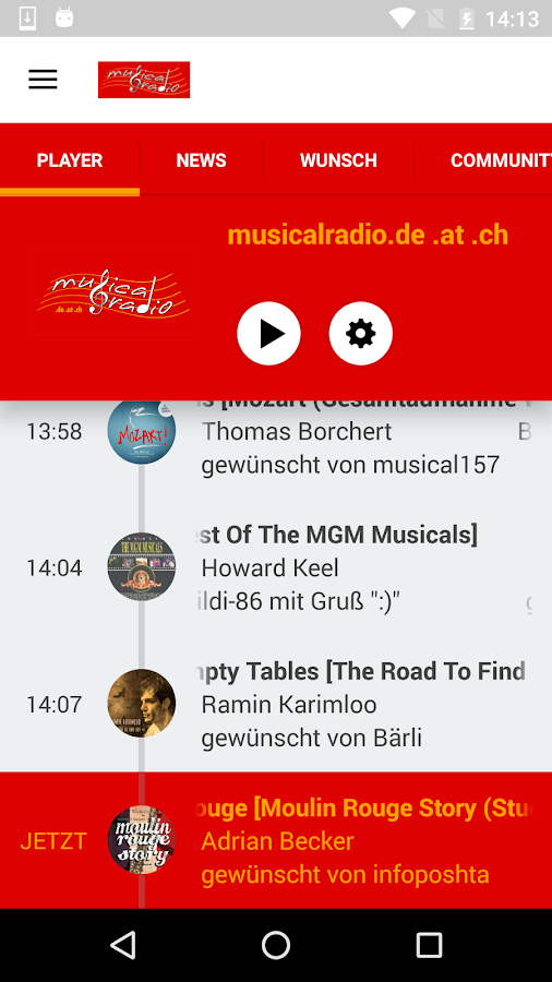 musicalradio- screenshot