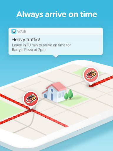 Waze - GPS, Maps, Traffic Alerts & Live Navigation 4.42.0.5 screenshots 8