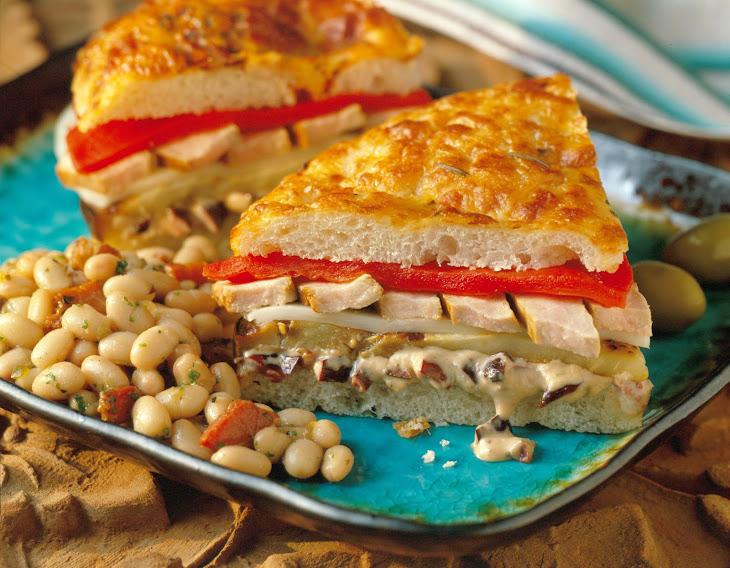 Tuscan Pork Sandwich