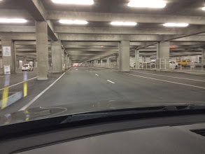 Photo: Parking structure wasn't as full as I expected