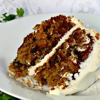 Classic Carrot Cake.