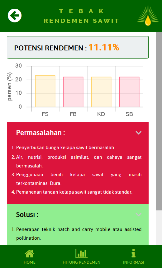 Tebak Rendemen Sawit- screenshot
