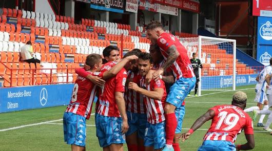 El Almería espió al Lugo que venció al Leganés