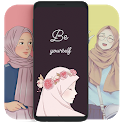 Hijab Muslimah Wallpaper HD icon