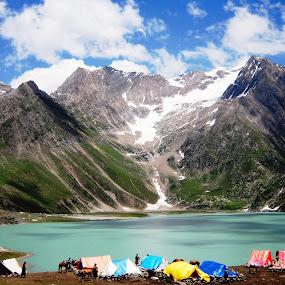 Panjtarani Lake by Ajit Kumar Majhi - Landscapes Mountains & Hills (  )