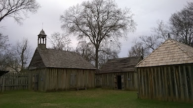 Photo: Buildings at Ft. St. Jean Baptiste Natchitoches