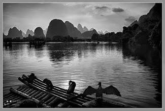 Photo: Backlight in Guilin -China
