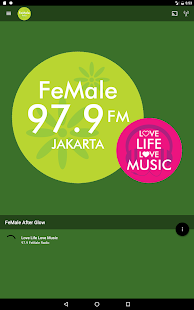 FeMale Radio- screenshot thumbnail