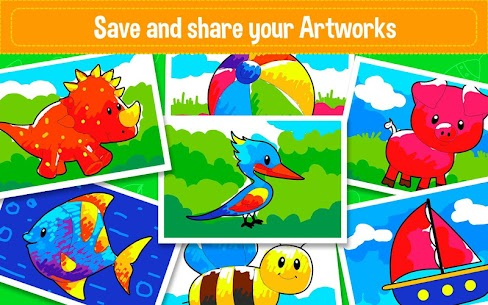 Learning & Coloring Game for Kids & Preschoolers 5