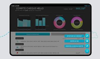 Screenshot of Hello bank! par BNP Paribas