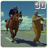 Police Horse Chase: Crime Town