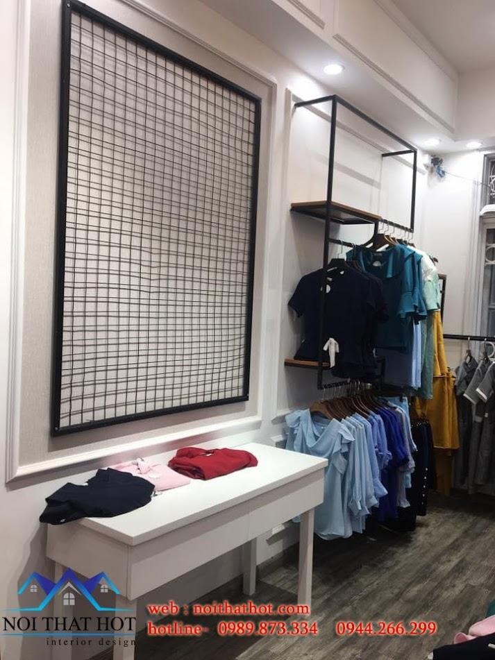 thi công thiết kế shop thời trang công sở