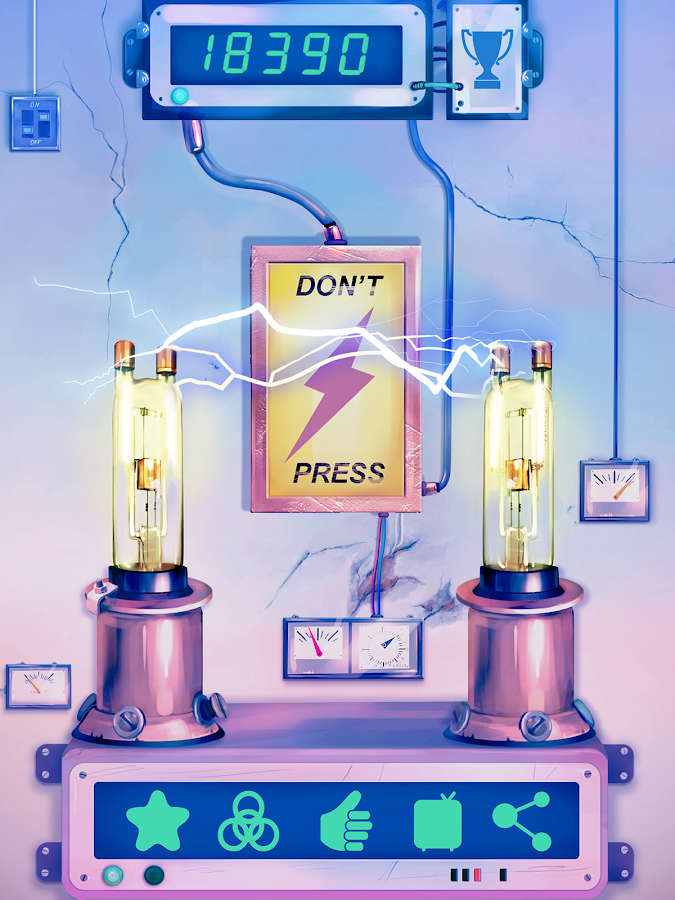 Don't Press Electric Shock- screenshot