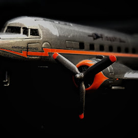 1:144 Scale Model of DC3 AA flagship by Ron Meyers - Artistic Objects Toys