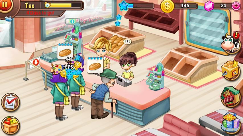 android Virtual Farm Business Village Screenshot 2