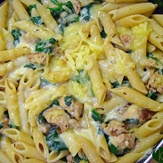 Green Penne pasta