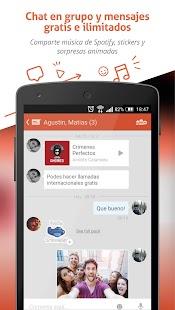 Tango - Chat y Llamadas Gratis - screenshot thumbnail