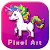 Unicorn Sandbox Coloring by number pixel 20  file APK Free for PC, smart TV Download