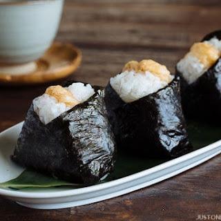 Tenmusu (Tempura Shrimp Rice Ball)