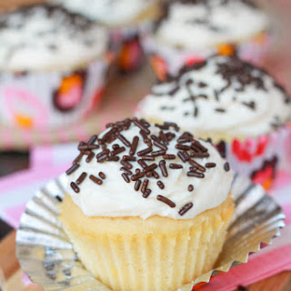 Small Batch Vanilla Cupcakes Recipe