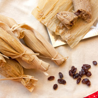 Sweet Tamales With Raisins Recipes