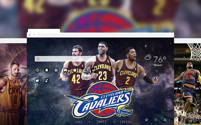 Cleveland Cavaliers NBA Basketball HD Theme
