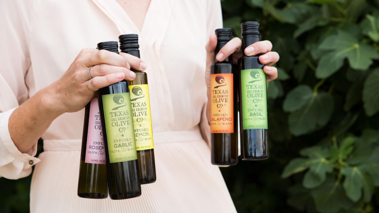 Infused Texas Olive Oil Collection