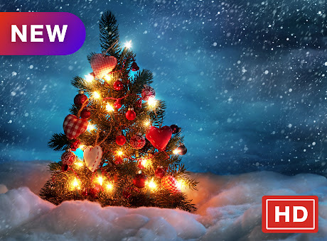 Christmas Lights Festival HD New Tabs Theme