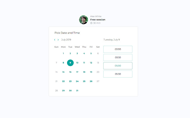 Qwoach: free scheduling software for coaches